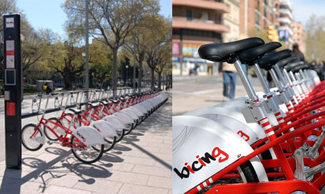 Bicing, the second best way to get around barcelona